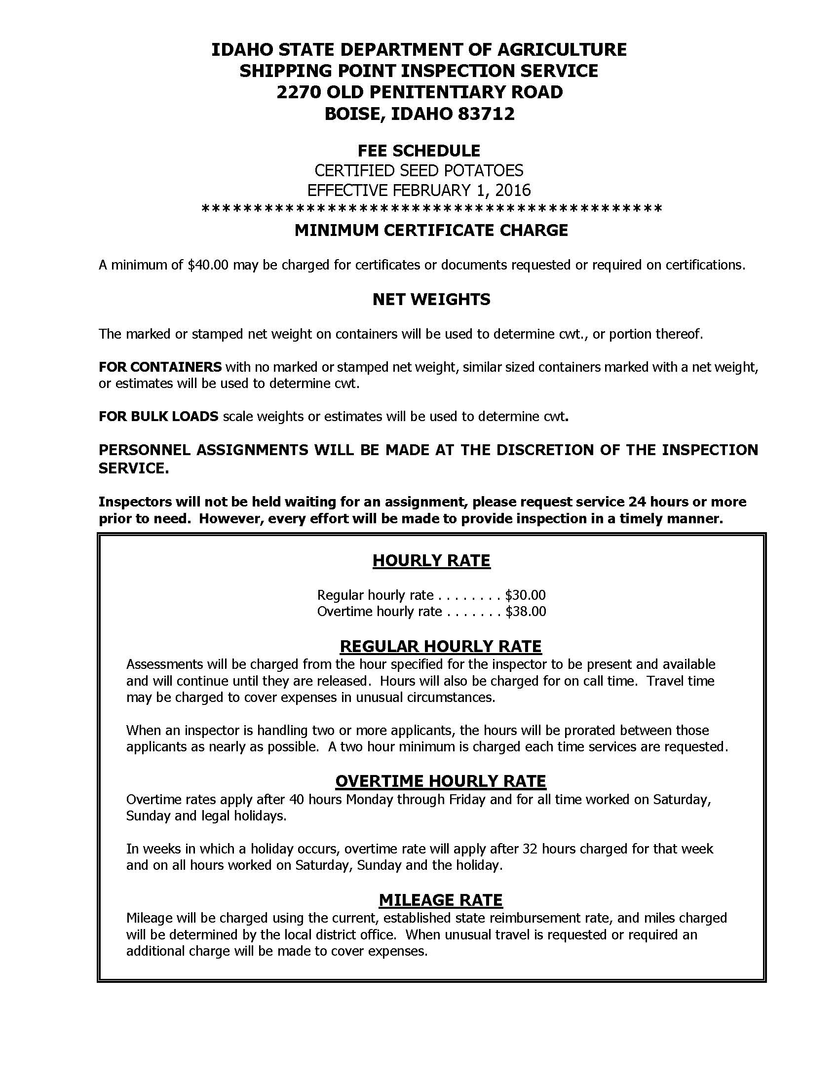 Printable PDF – Idaho State Department of Agriculture
